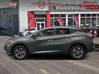 New 2017 Nissan Murano SV  - $241.24 B/W for sale in Woodstock, ON