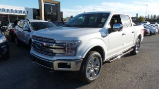 New 2018 Ford F-150 Lariat, Lthr, Moonroof, Nav, Loaded for sale in Stratford, ON