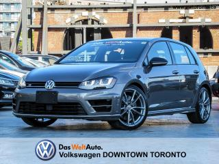 Used 2017 Volkswagen Golf R 4MOTION TECHNOLOGY PRETORIA for sale in Toronto, ON