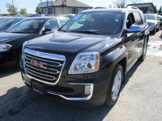 Used 2017 GMC Terrain LOADED SLT EDITION 5 PASSENGER 3.6L - V6.. AWD.. LEATHER.. HEATED SEATS.. NAVIGATION.. POWER SUNROOF.. BACK-UP CAMERA.. for sale in Bradford, ON