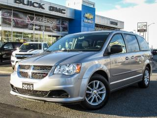 Used 2015 Dodge Grand Caravan SXT PLUS, STOW AND GO *CERTIFIED* for sale in Ottawa, ON