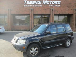 Used 2001 Honda CR-V AWD | POWER GROUP | YOU SAFETY YOU SAVE | for sale in Mississauga, ON