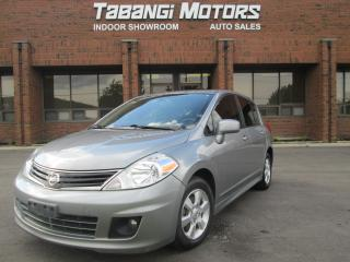 Used 2012 Nissan Versa BLUETOOTH   SUNROOF   ALLOYS   for sale in Mississauga, ON