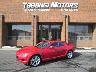Used 2005 Mazda RX-8 LEATHER | SUNROOF | for sale in Mississauga, ON