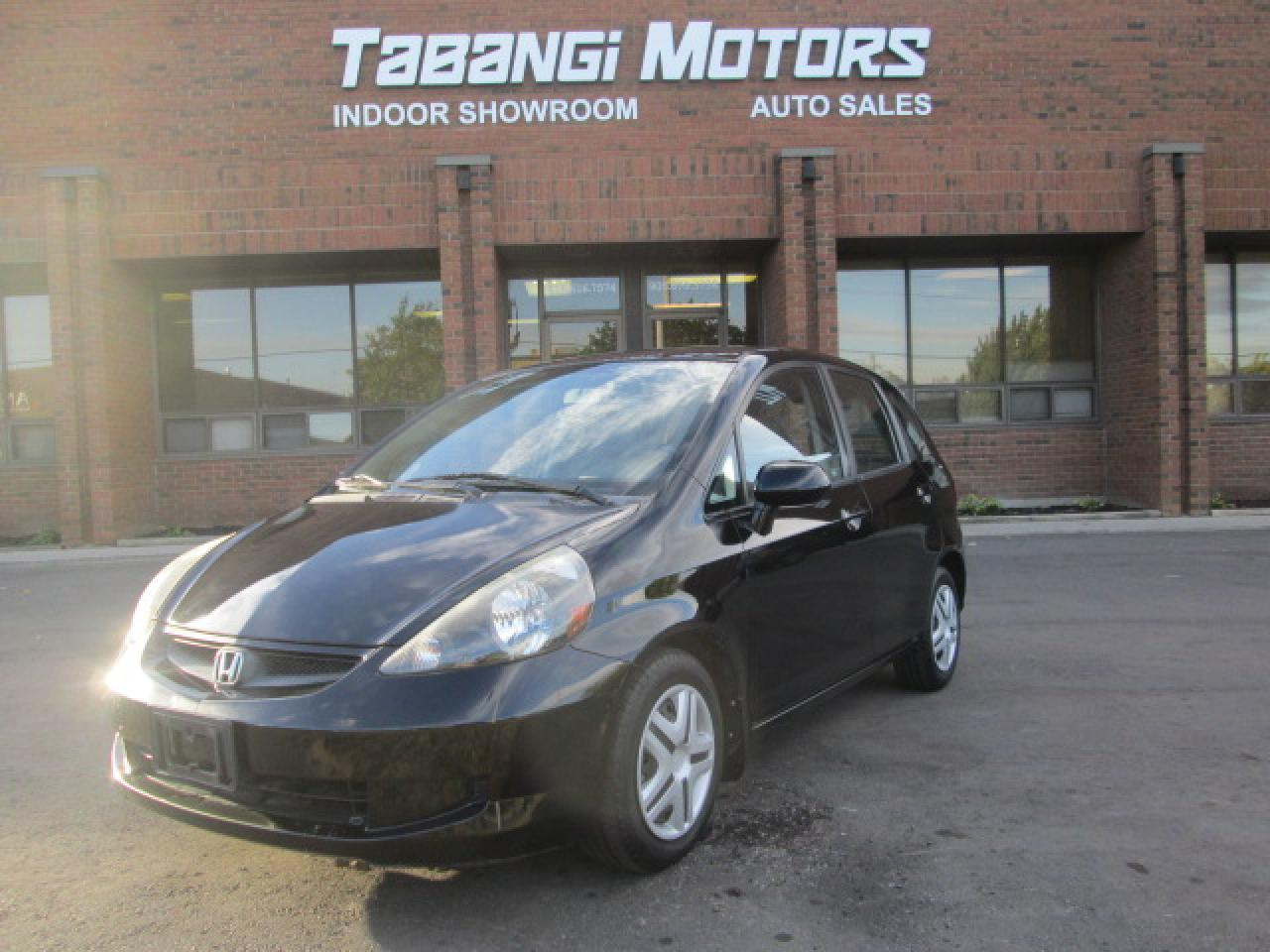Photo of Black 2007 Honda Fit