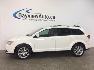 Used 2014 Dodge Journey LTD- 3.6L|REM STRT|ROOF|HTD STS|7 RIDER|UCONNECT! for sale in Belleville, ON