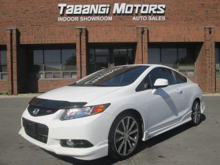 Used 2012 Honda Civic SI | HFP | NAVIGATION | I-VTECH for sale in Mississauga, ON
