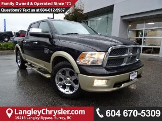 Used 2012 Dodge Ram 1500 Laramie Longhorn/Limited Edition *ONE OWNER*LOCAL BC TRUCK* for sale in Surrey, BC