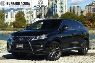 Used 2013 Lexus RX 350 F-Sport for sale in Vancouver, BC