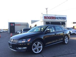 Used 2013 Volkswagen Passat TDI - LEATHER - SUNROOF - HTD SEATS for sale in Oakville, ON