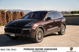 Used 2017 Porsche Cayenne S e-Hybrid | PORSCHE CERTIFIED for sale in Vancouver, BC