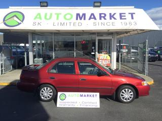 Used 2001 Toyota Corolla CE AUTO, PWR. GROUP, FINANCE ANYONE! for sale in Langley, BC