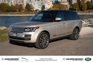 Used 2014 Land Rover Range Rover V8 Autobiography (2) SALE! for sale in Vancouver, BC