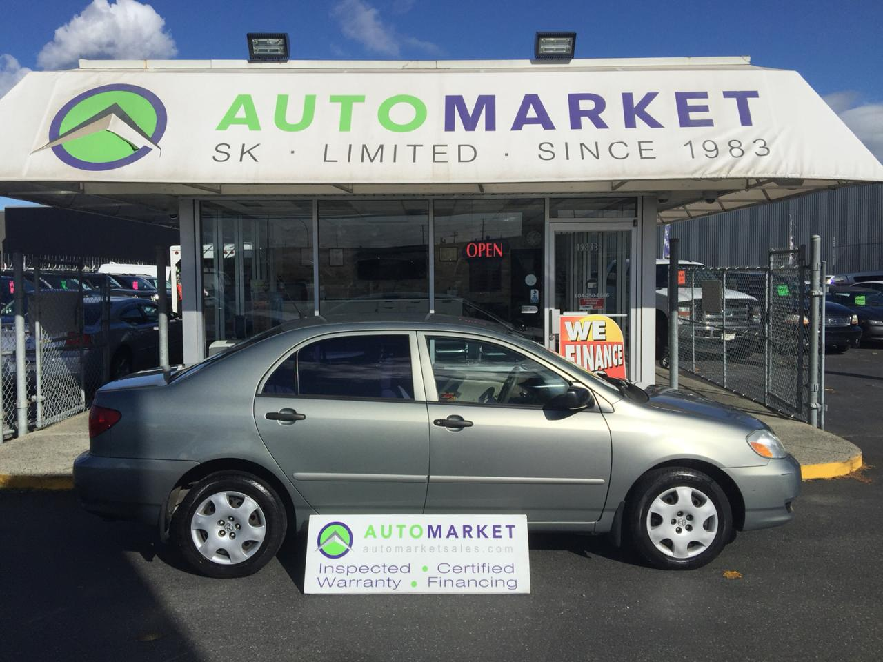 Used 2004 Toyota Corolla CE AUTO YOU WORK/YOU DRIVE! for Sale in ...