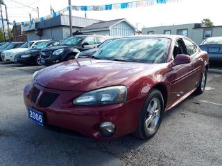 Used 2006 Pontiac Grand Prix certified,,LOW KMS!! for sale in Oshawa, ON