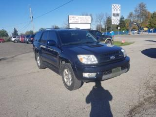 Used 2005 Toyota 4Runner SR5 for sale in Komoka, ON