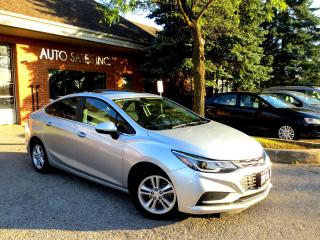 Used 2016 Chevrolet Cruze LT,NEW BODY STYLE,SUNROOF,LOADED,CERT for sale in Concord, ON