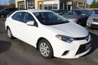 Used 2016 Toyota Corolla LE for sale in Brampton, ON