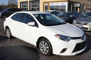 Used 2016 Toyota Corolla LE Heated Seats Bluetooth Backup Came for sale in Brampton, ON