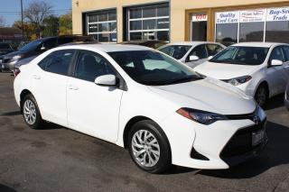 Used 2017 Toyota Corolla LE Heated Seats Backup Cam for sale in Brampton, ON