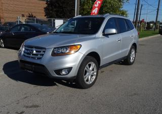 Used 2010 Hyundai Santa Fe Limited.Leather.Sunroof.Carproof Clean for sale in Brampton, ON