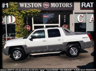 Used 2002 Chevrolet Avalanche LTZ*Z71*4X4*LEATHER*SUNROOF*CERT&ETESTED!!!* for sale in York, ON