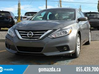 Used 2017 Nissan Altima S BACK UP CAMERA PUSH BUTTON START POWER OPTIONS ACCIDENT FREE for sale in Edmonton, AB