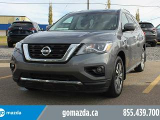 Used 2017 Nissan Pathfinder SL AWD LEATHER HEATED SEATS 360 CAM EASY 3RD ROW ACCESS for sale in Edmonton, AB