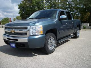 Used 2011 Chevrolet Silverado 1500 CREW CAB 4x4 for sale in Stratford, ON