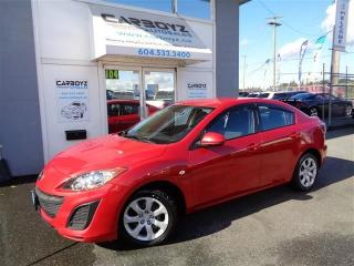 Used 2010 Mazda MAZDA3 Sedan, 5 Speed Manual, A/C, Power Windows, Locks for sale in Langley, BC