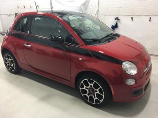 2012 Fiat 500 Sport Prima Edizione Edition