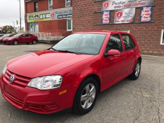 Used 2009 Volkswagen Golf City - SAFETY & WARRANTY for sale in Cambridge, ON