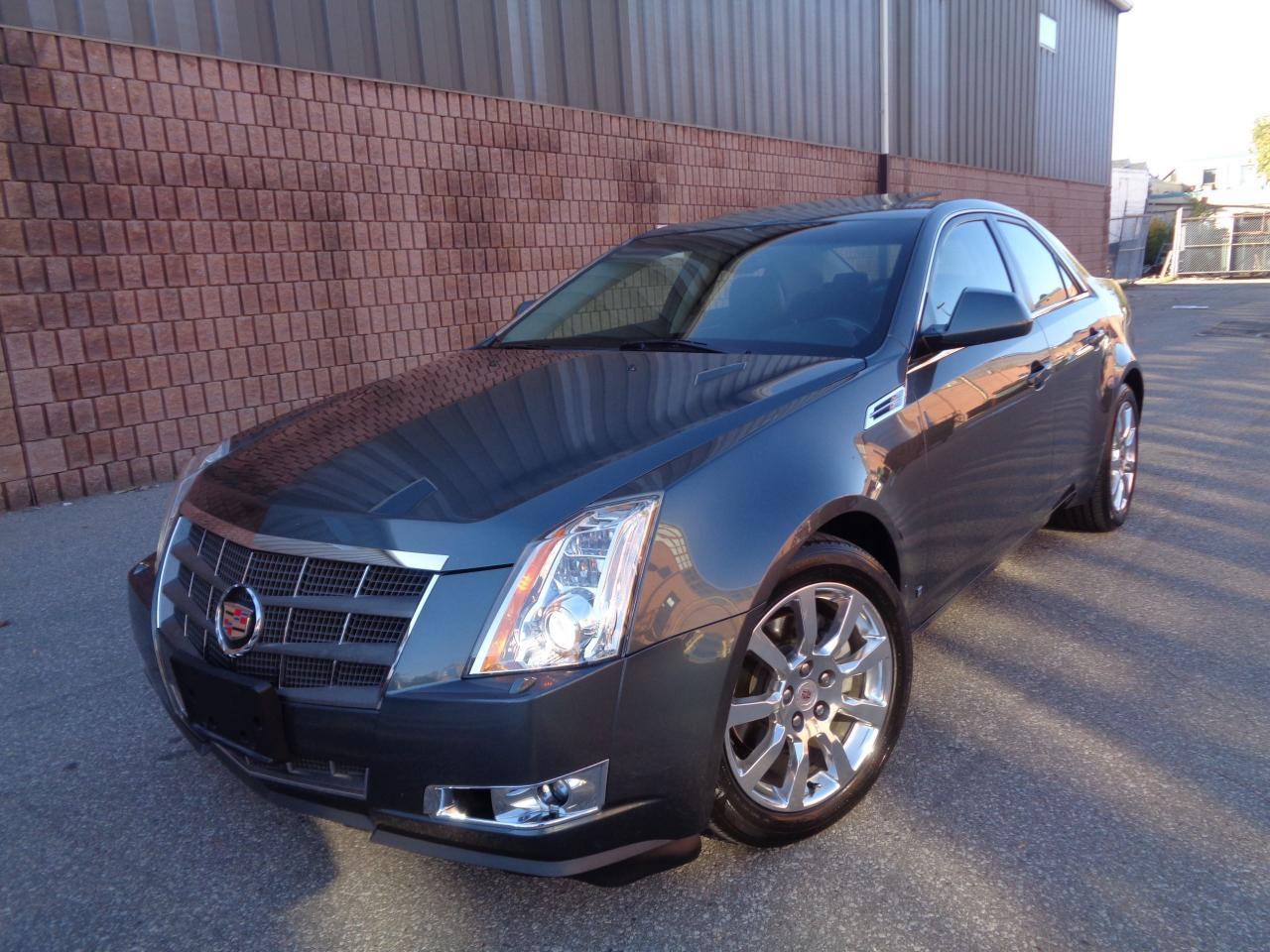 Photo of Gray 2008 Cadillac CTS