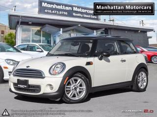 Used 2013 MINI Cooper CLASSIC AUTO |PANORAMIC|BLUETOOTH|ONLY 74,000KM for sale in Scarborough, ON