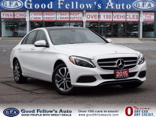Used 2015 Mercedes-Benz C 300 HEATED FRONT SEATS, NAV, CAMERA, BLIND SPOT ASSIST for sale in North York, ON