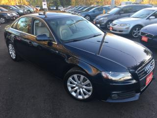 Used 2010 Audi A4 2.0T Premium  Plus for sale in Scarborough, ON