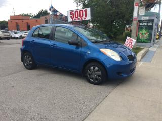 Used 2007 Toyota Yaris H/B,AUTO,4DR,EXTRA CLEAN,SAFETY+3YEARS WARNTY INCL for sale in North York, ON