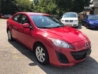 Used 2011 Mazda MAZDA3 GX - NO ACCIDENT - SAFETY & WARRANTY INCLUDED for sale in Cambridge, ON