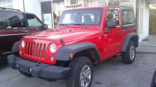 Used 2015 Jeep Wrangler SPORT for sale in Orillia, ON
