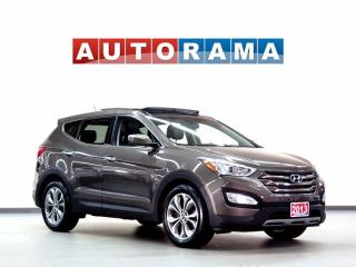 Used 2013 Hyundai Santa Fe LTD LEATHER SUNROOF 4WD for sale in North York, ON