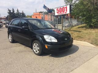 Used 2009 Kia Rio5 HATCK/BACK,AUTO,135KM,SAFETY+3YEARS WARANTY INCLUD for sale in North York, ON