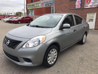 Used 2012 Nissan Versa Sedan 1.6 ONE OWNER/NO ACCIDENT - SAFETY/WARRANTY INCL for sale in Cambridge, ON
