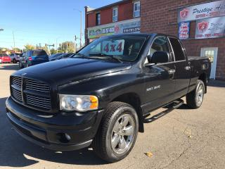 Used 2003 Dodge Ram 1500 SLT/4.8L/4X4/NO ACCIDENT/SAFETY/WARRANTY INCLUDED for sale in Cambridge, ON