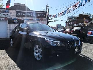 Used 2007 BMW 5 Series 530i SUPER CLEAN ((CERTIFIED)) for sale in Hamilton, ON