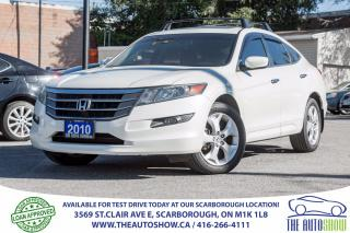 Used 2010 Honda Accord Crosstour EX-L NAVI AWD Sunroof Leather for sale in Caledon, ON