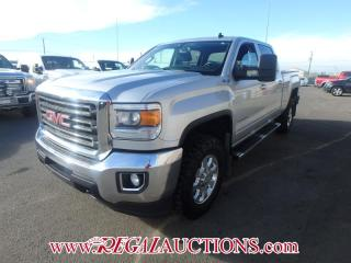 Used 2015 GMC SIERRA 2500 SLE CREW CAB 4WD for sale in Calgary, AB