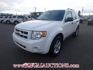 Used 2009 Ford ESCAPE HYBRID 4D UTILITY 2WD for sale in Calgary, AB