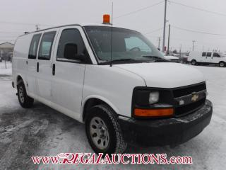 Used 2010 Chevrolet G1500 EXPRESS CARGO VAN for sale in Calgary, AB