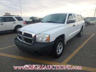 Used 2006 Dodge DAKOTA  CLUB CAB 2WD for sale in Calgary, AB