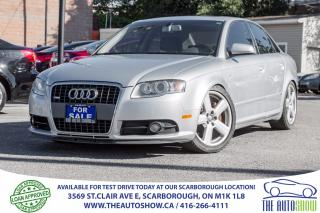 Used 2008 Audi A4 2.0T S Line Quattro Sunroof Leather for sale in Caledon, ON